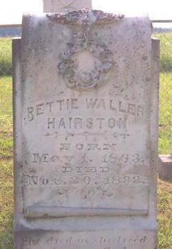 Bettie <i>Waller</i> Hairston