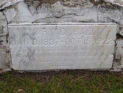 Mary C. <i>Hobbs</i> Hall