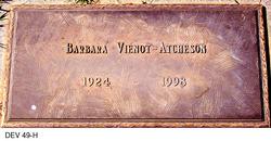Barbara <i>Vienot</i> Atcheson
