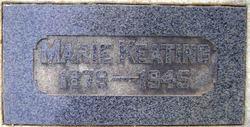 Marie M. <i>Walter</i> Keating