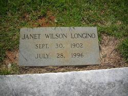 Janet <i>Wilson</i> Longino