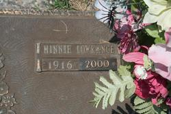 Minnie <i>Lowrance</i> Cook