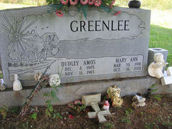 Mary Ann <i>Owens</i> Greenlee