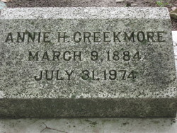 Annie H Creekmore