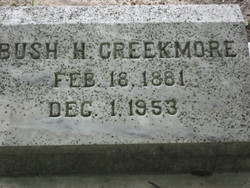 Bush H Creekmore