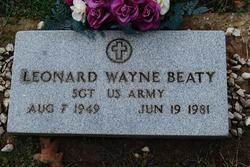 Leonard Wayne Beaty