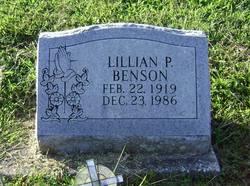 Lillian P Benson