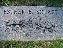 Esther B Schaft