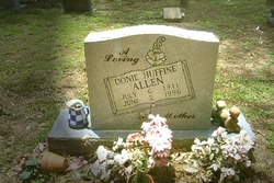 Donie Octavia <i>Huffhines</i> Allen
