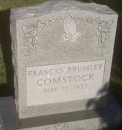 Frances <i>Brumley</i> Comstock