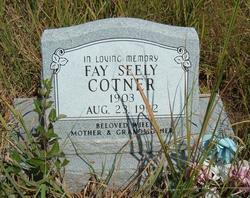 Fay <i>Seely</i> Cotner