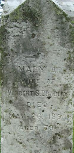 Mary A <i>Gibbons</i> Bradley