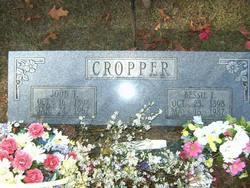 Bessie Fern <i>Sweeton</i> Cropper