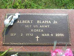 Albert Bud Blaha, Jr