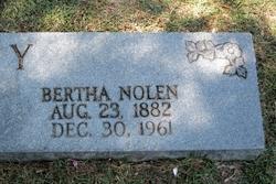 Bertha <i>Nolen</i> Fly