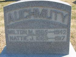 Mattie <i>Jagger</i> Auchmuty