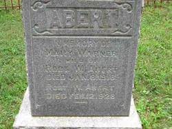 Mary <i>Warner</i> Abert