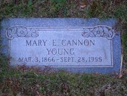Mary Eliza <i>Croxall</i> Young