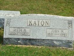 Letta Mae <i>Smith</i> Katon