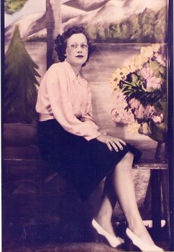 Mrs Lu Vada <i>Walker</i> Hollingsworth