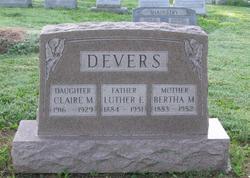 Bertha Mae <i>Smith</i> Devers