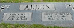Nadine <i>Holtzclaw</i> Allen
