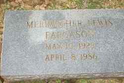 Meriwether <i>Lewis</i> Fargason