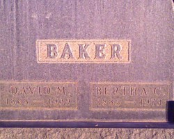 David Maurice Baker