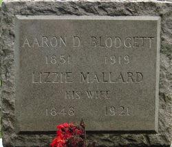 Lizzie <i>Mallard</i> Blodgett