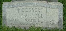 Anna Marjorie <i>Dessert</i> Carroll