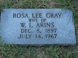 Rosa Lee <i>Gray</i> Akins