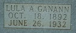 Lula A. <i>Thompson</i> Ganann