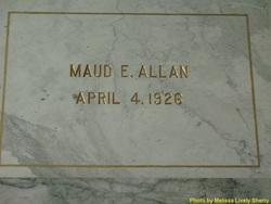 Maud E. Allan