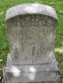 Sarah Jane <i>Shaw</i> Walters