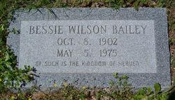 Bessie <i>Wilson</i> Bailey