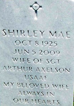 Shirley Mae Axelson