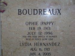 Lydia <i>Hernandez</i> Boudreaux