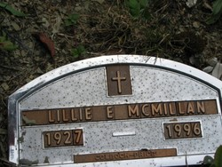 Lillie E McMillan