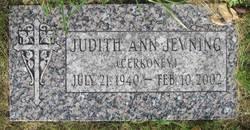 Judith Ann <i>Jevning</i> Cerkoney