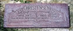 Maud <i>Singleton</i> Christensen