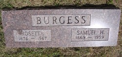 Samuel H Burgess