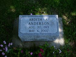 Ardith A Anderson