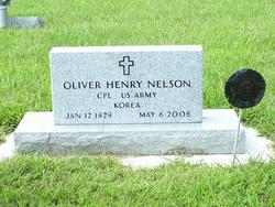 Oliver Henry Hank Nelson