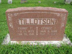 Francis Elizabeth Fannie <i>Newman</i> Tillotson