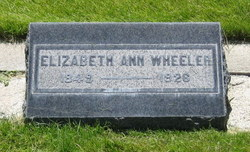 Elizabeth Ann Wheeler