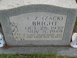 E. Z. Zack Bright
