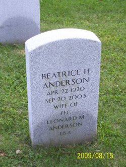 Beatrice H. Anderson