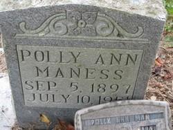 Polly Ann Maness