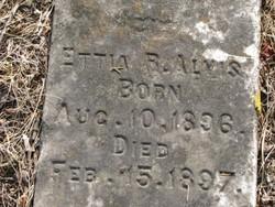 Ettia R. Alvis