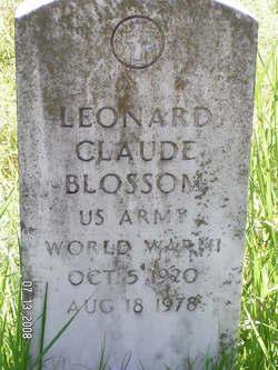 Leonard Claude Blossom